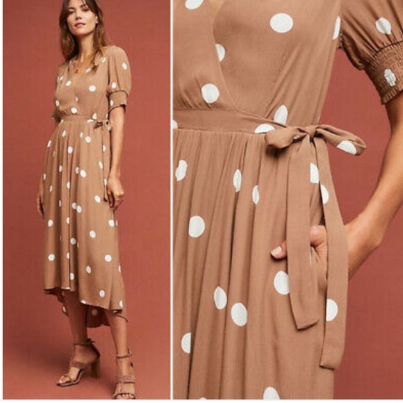 Anthropologie Dresses & Skirts - Anthropologie Breanna Polka Dot Dress